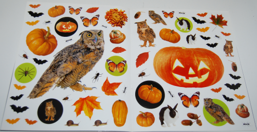 400 halloween stickers book 3