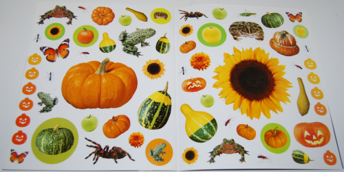 400 halloween stickers book 5