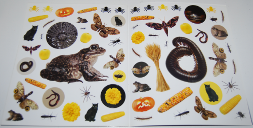 400 halloween stickers book 6
