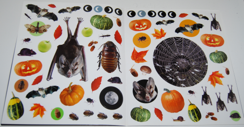 400 halloween stickers book 2