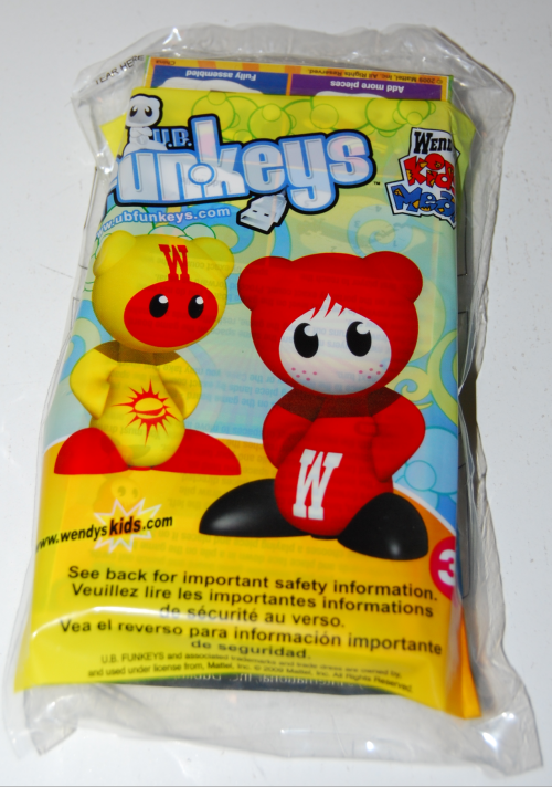 Wendy's kids meal ub funkeys game x