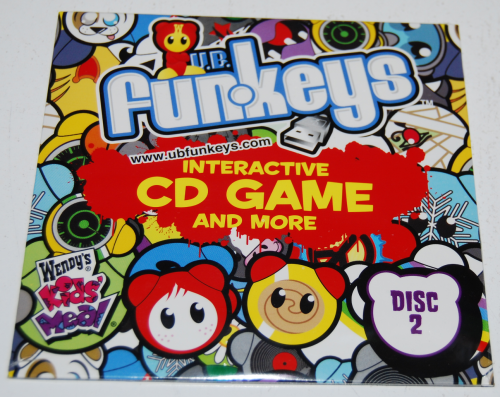 Wendy's kids meal ub funkeys cds