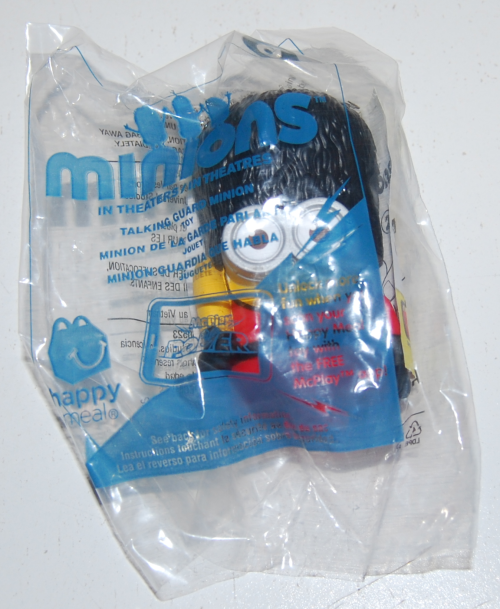 Happy meal toy minions 2