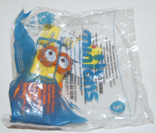 Happy meal toy minions