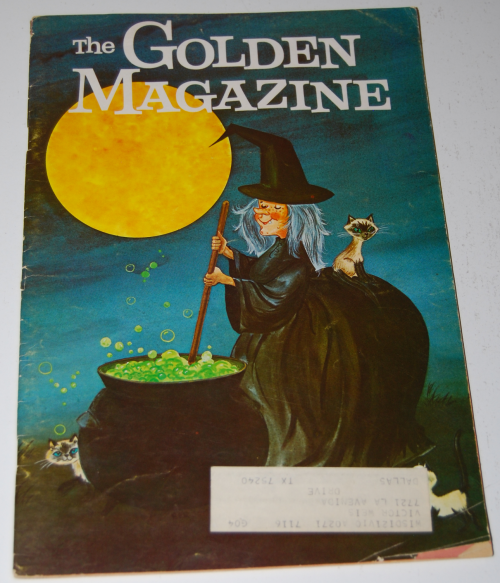Golden magazine oct 1970