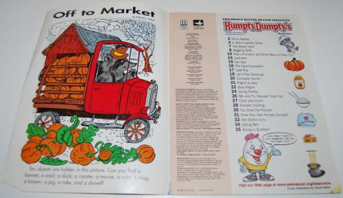 Humpty dumpty magazine 1
