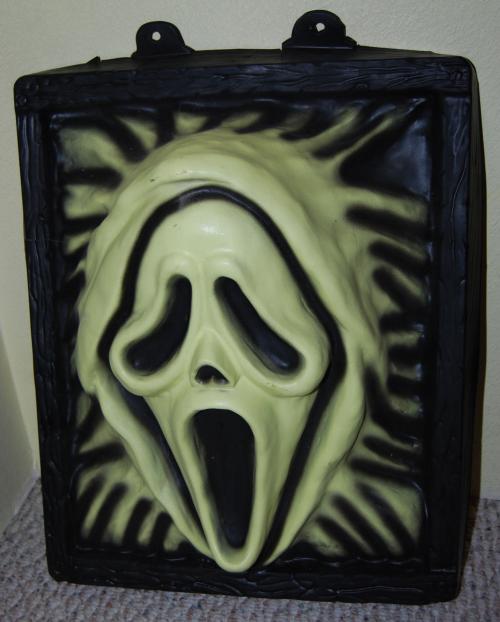Halloween skull deco