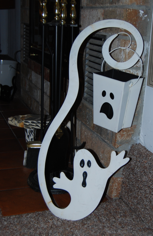 Halloween decor ghost