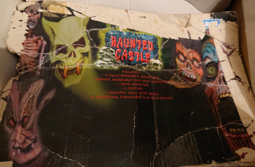 Toy haunted castle vintage playset 3