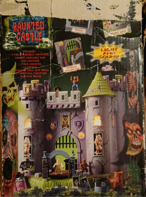 Toy haunted castle vintage playset x