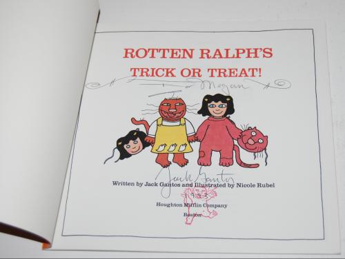 Rotten ralph's trickortreat x