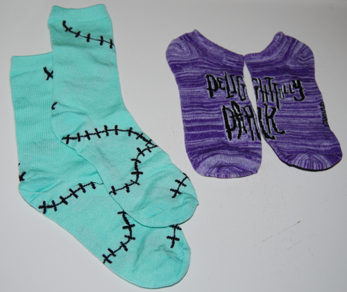 Nightmare before christmas 12 days of socks 7