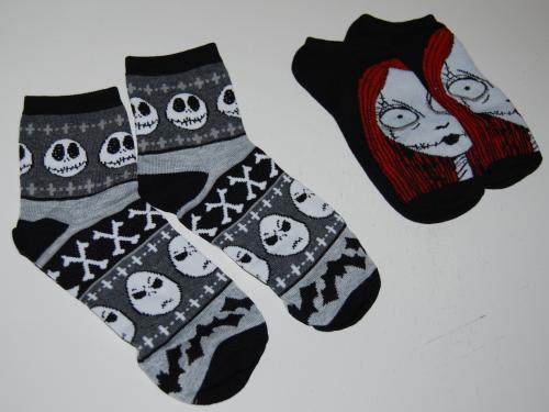 Nightmare before christmas 12 days of socks 6
