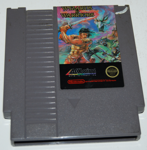 Nes wizards warriors