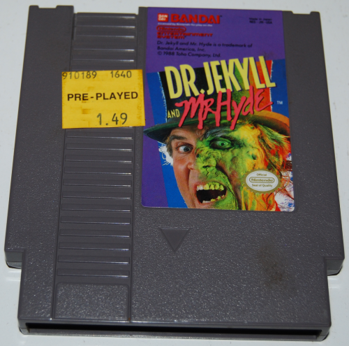 Nes dr jekyll mr hyde