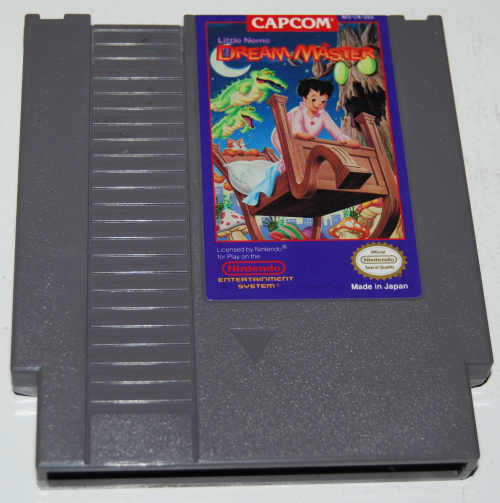 Nes little nemo dream master