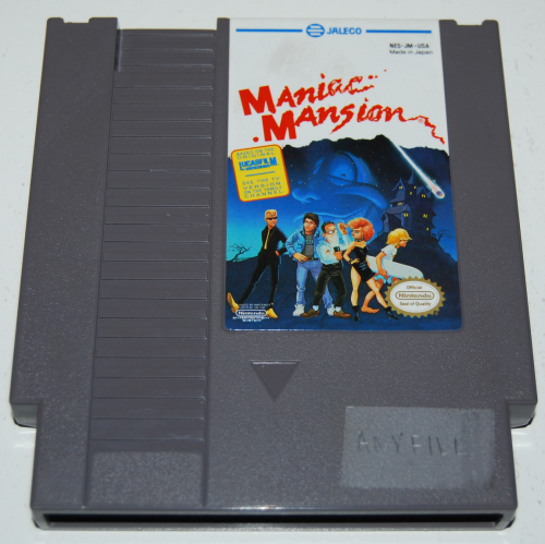 Nes maniac mansion