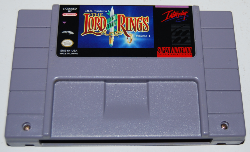 Snes lord of the rings
