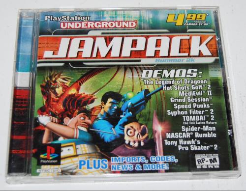 Ps underground jampack