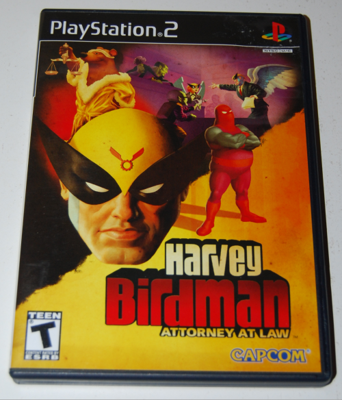 Ps2 harvey birdman