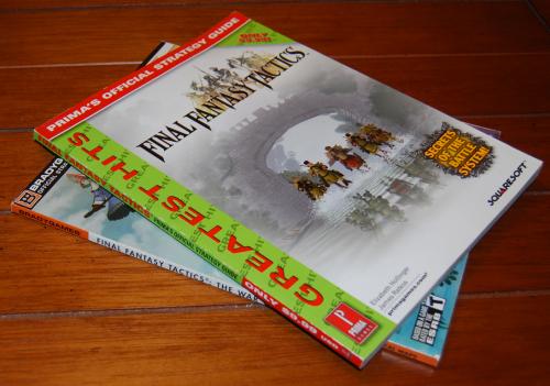 Final fantasy tactics guide x