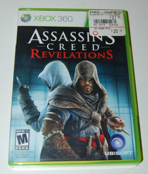 Xbox assassin's creed