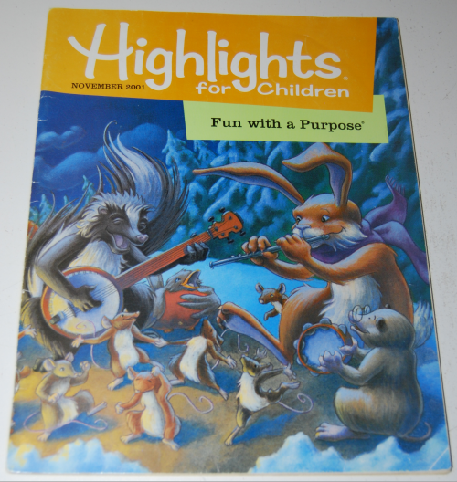 Highlights children nov 2001