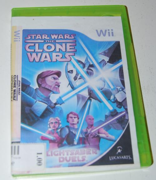 Wii star wars clone wars