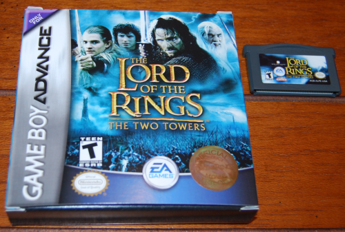 Lord of the rings two towers gameboy advance