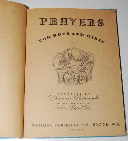 Prayers story hour book vintage 1