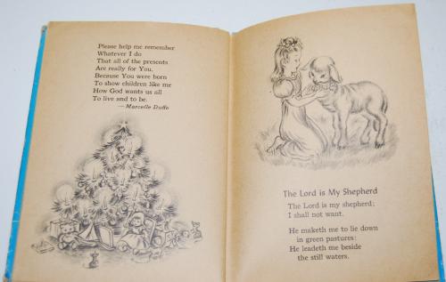 Prayers story hour book vintage 12