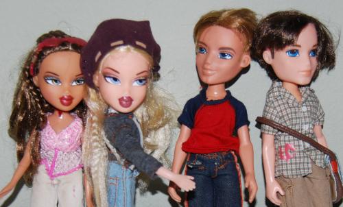 Bratz dolls x