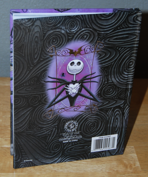 Nightmare before christmas journal xx