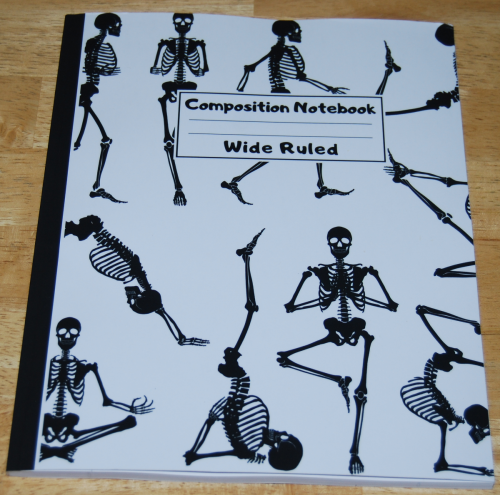 Yoga skeletons journal