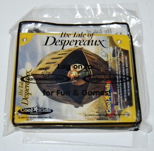 Carls jr tale of despereaux