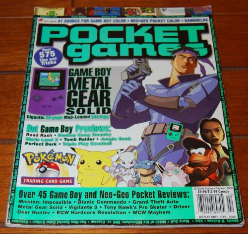 Pocket games magazine
