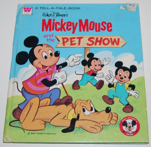 Mickey mouse pet show book