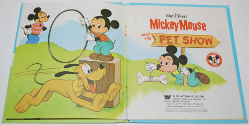 Mickey mouse pet show book 2