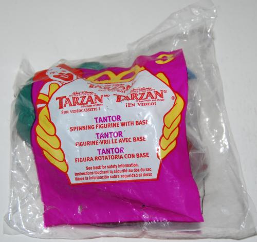 Happy meal toy tarzan 1
