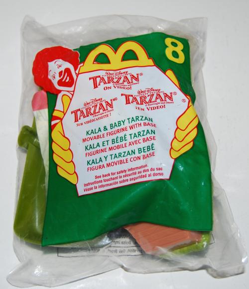 Happy meal toy tarzan