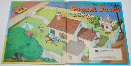 Donald duck's lucky day 1