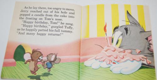 Tom & jerry birthday book 11