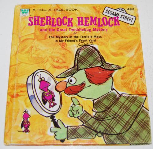 Sherlock hemlock book