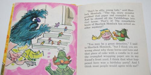 Sherlock hemlock book 9