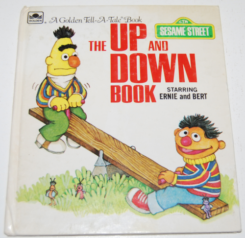 Up & down book ernie & bert