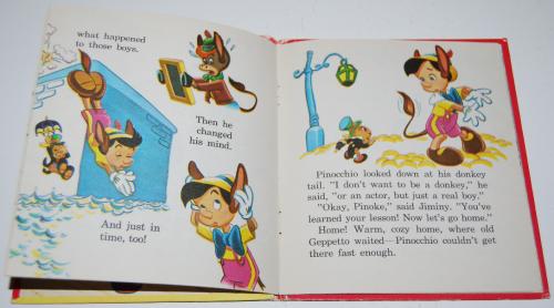 Pinocchio tellatale book 4