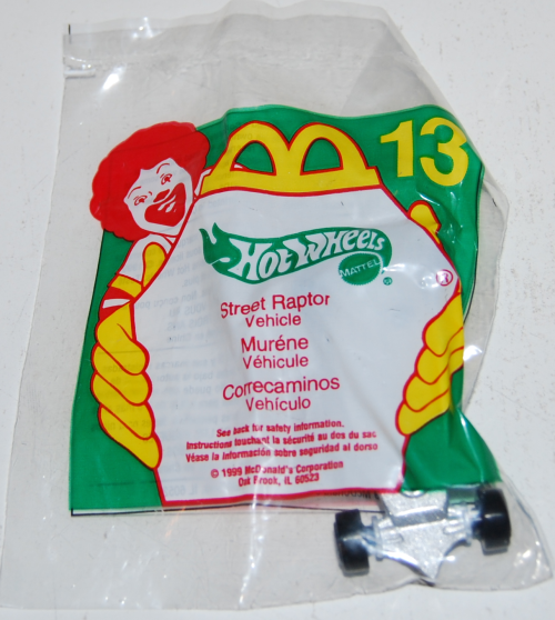 Happy meal toy hot wheels 13