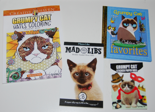 Grumpy cat books