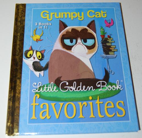 Grumpy cat little golden book