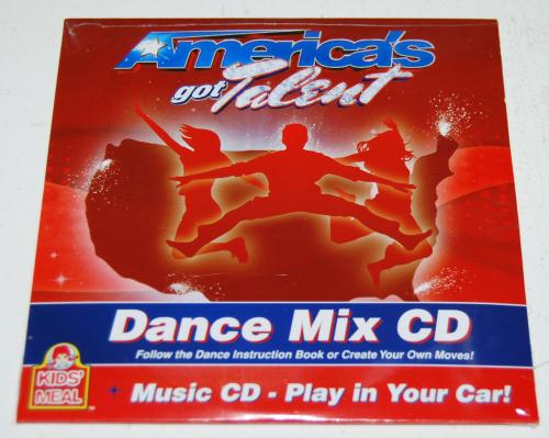 Wendy's kids meal america's got talent cd